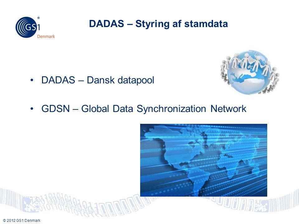 DADAS – Styring af stamdata