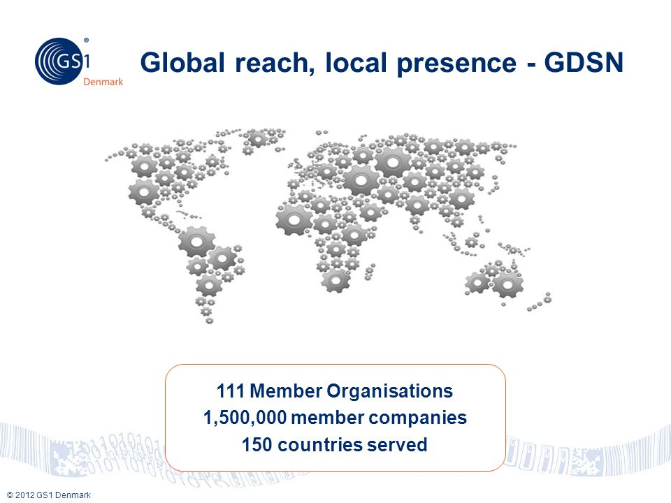 Global reach, local presence - GDSN