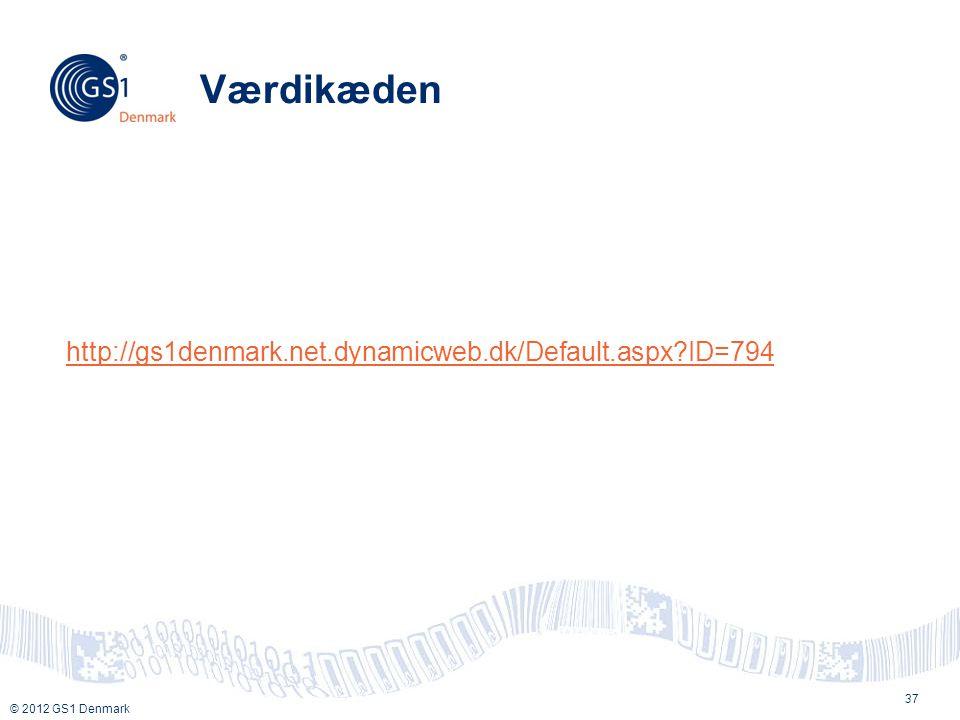 Værdikæden http://gs1denmark.net.dynamicweb.dk/Default.aspx ID=794