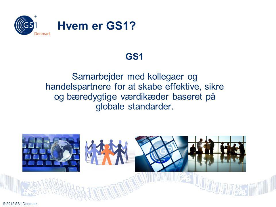 Hvem er GS1 GS1.
