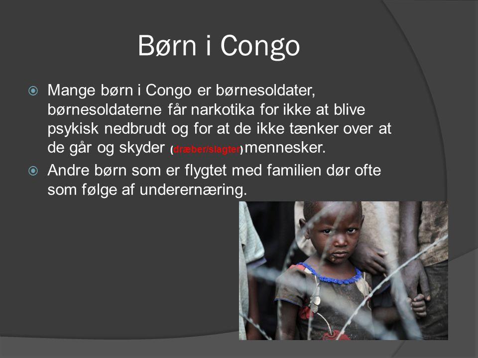 Børn i Congo
