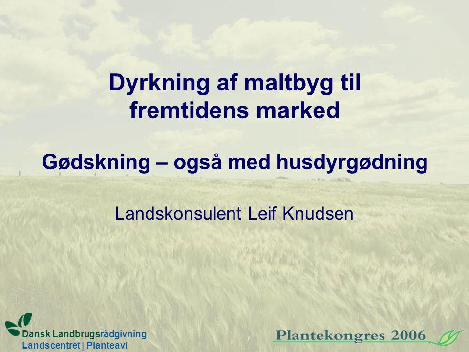 Landskonsulent Leif Knudsen