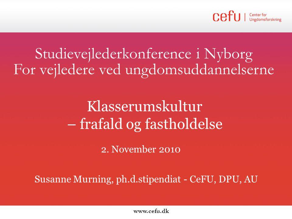 Studievejlederkonference i Nyborg