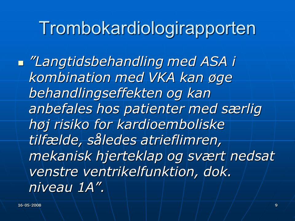 Trombokardiologirapporten