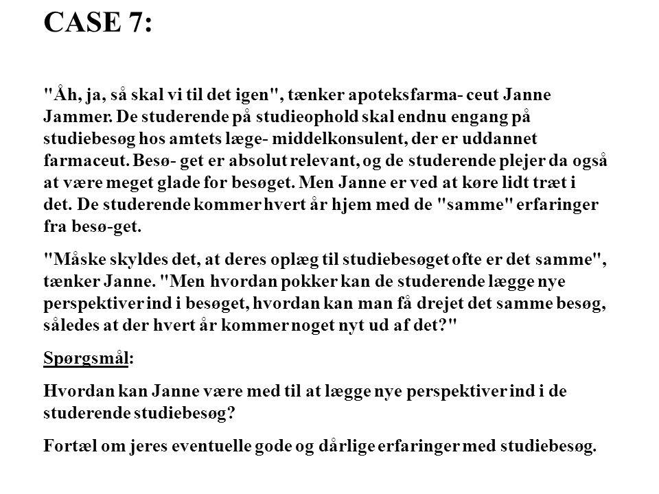 CASE 7: