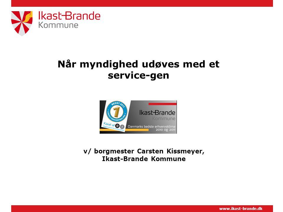 v/ borgmester Carsten Kissmeyer, Ikast-Brande Kommune