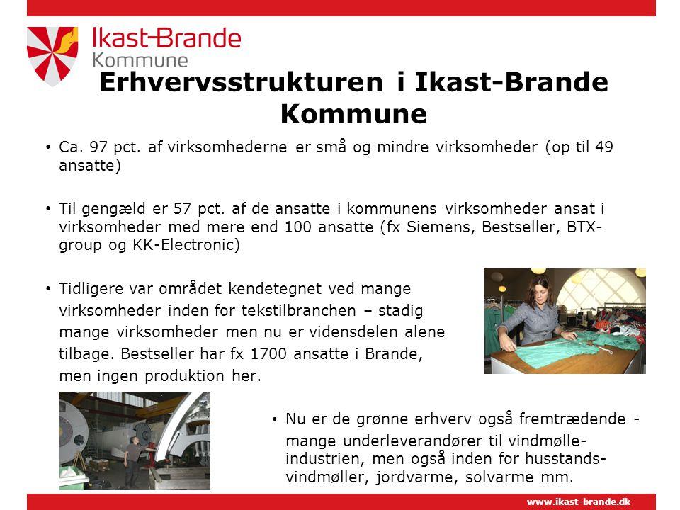 Erhvervsstrukturen i Ikast-Brande Kommune