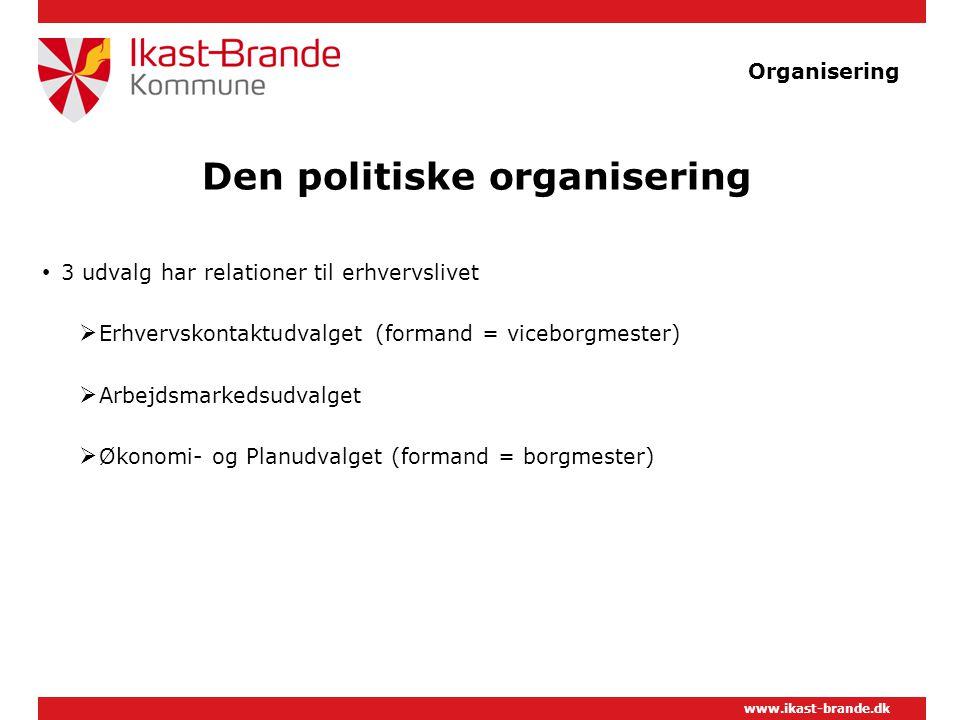 Den politiske organisering