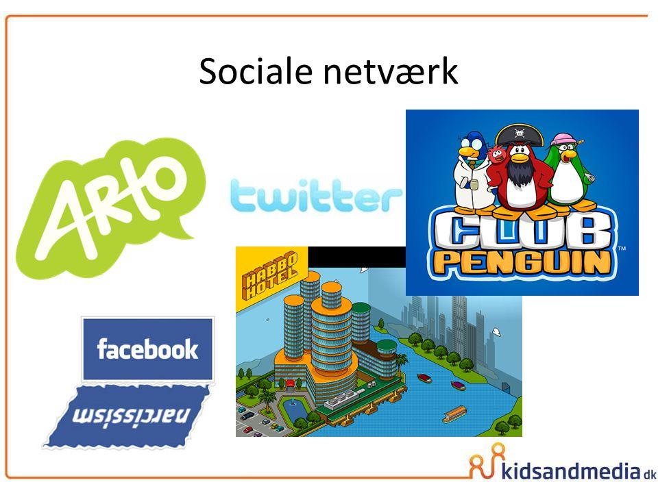 Sociale netværk Chatrum findes for næsten alle aldre:
