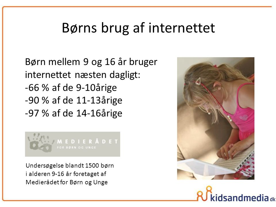 Børns brug af internettet