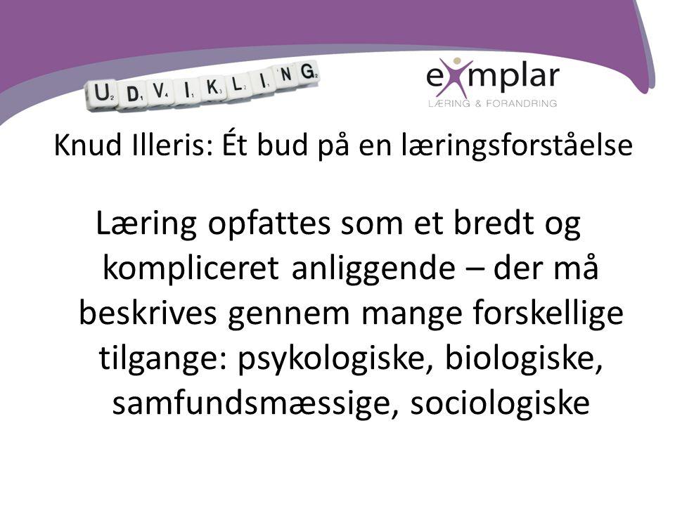 Knud Illeris: Ét bud på en læringsforståelse