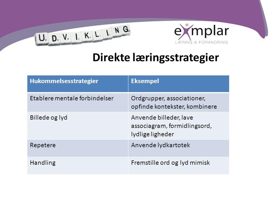 Direkte læringsstrategier