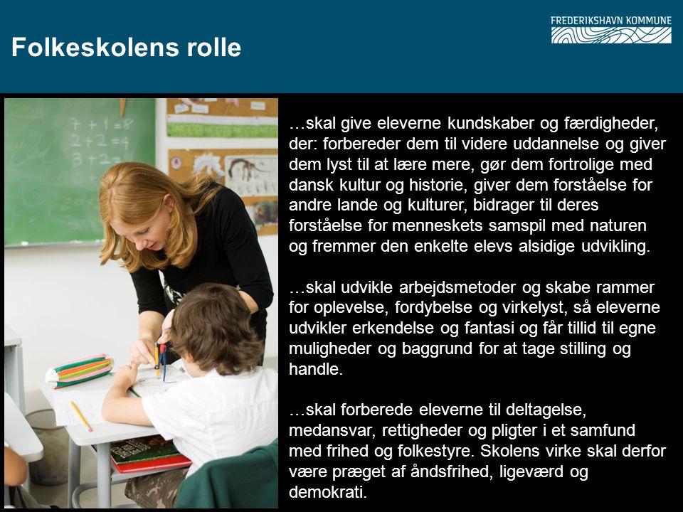 Folkeskolens rolle