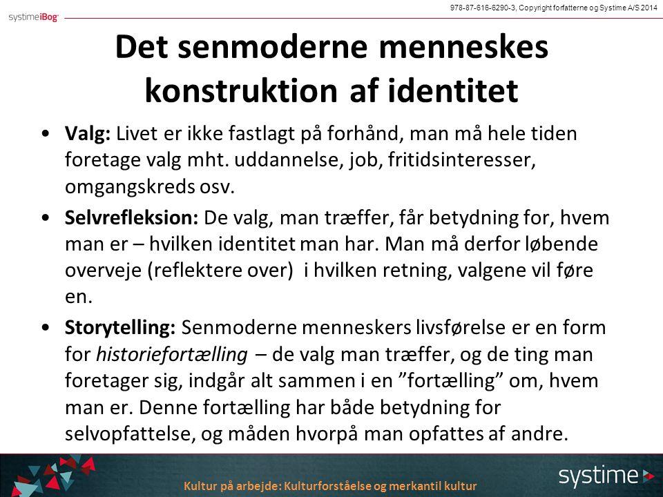 Kulturel identitet i senmoderne samfund