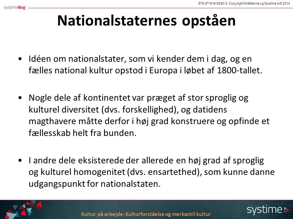 Nationalstater, kultur og identitet