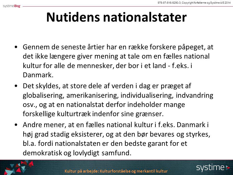 Nationalstaternes opståen