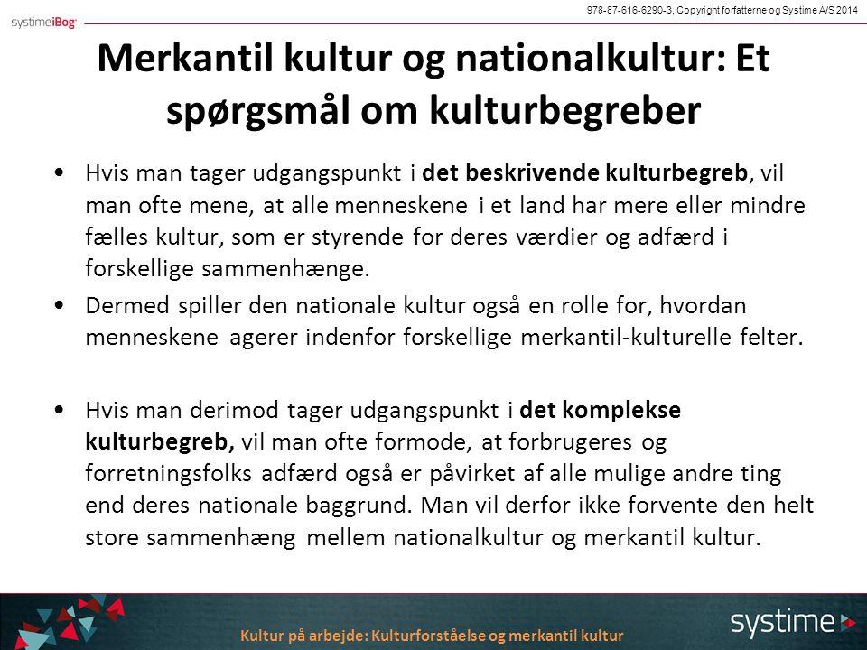 Nationalkultur og merkantil kultur