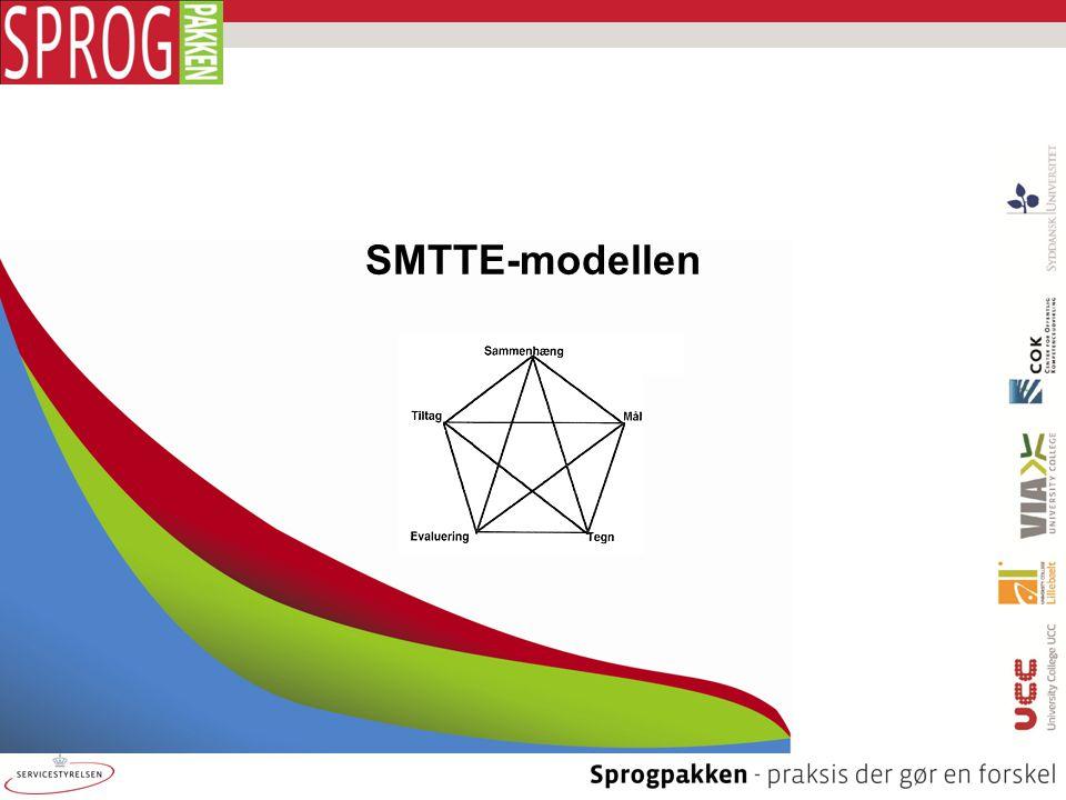 SMTTE-modellen Baggrundstekster til evaluering
