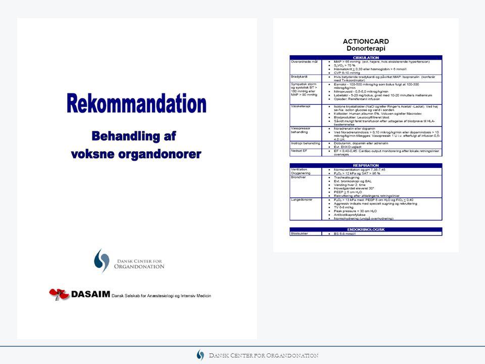 Findes som pdf-filer på DASAIM's og Center for Organdonations hjemmeside.