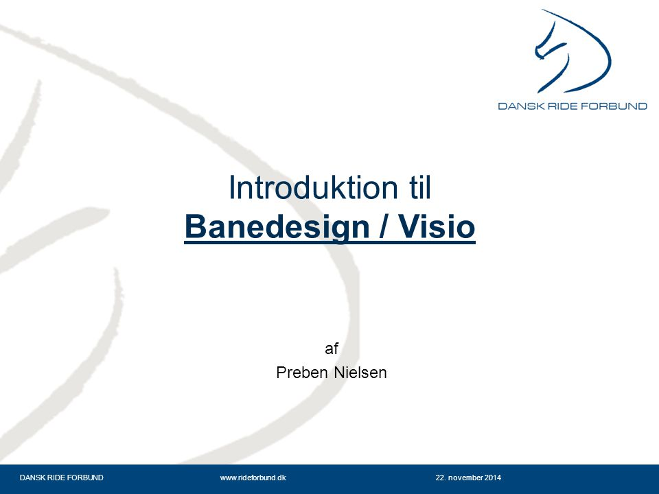 Introduktion til Banedesign / Visio