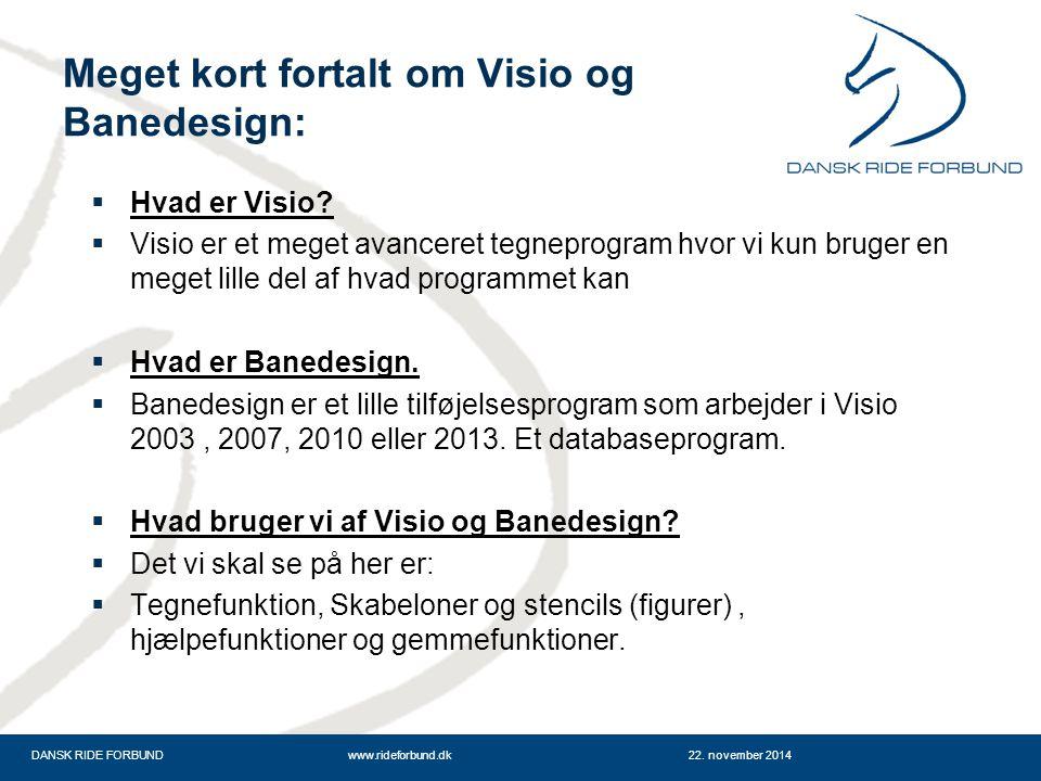 Meget kort fortalt om Visio og Banedesign: