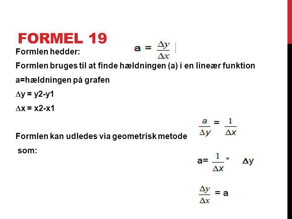 Formel 19