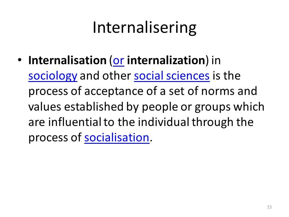 Internalisering