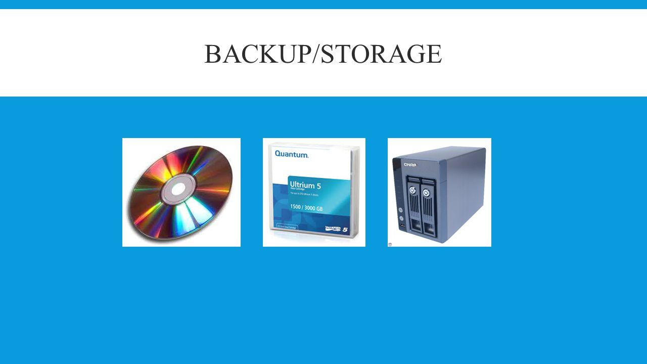 Backup/Storage Søren Helmer Jensen