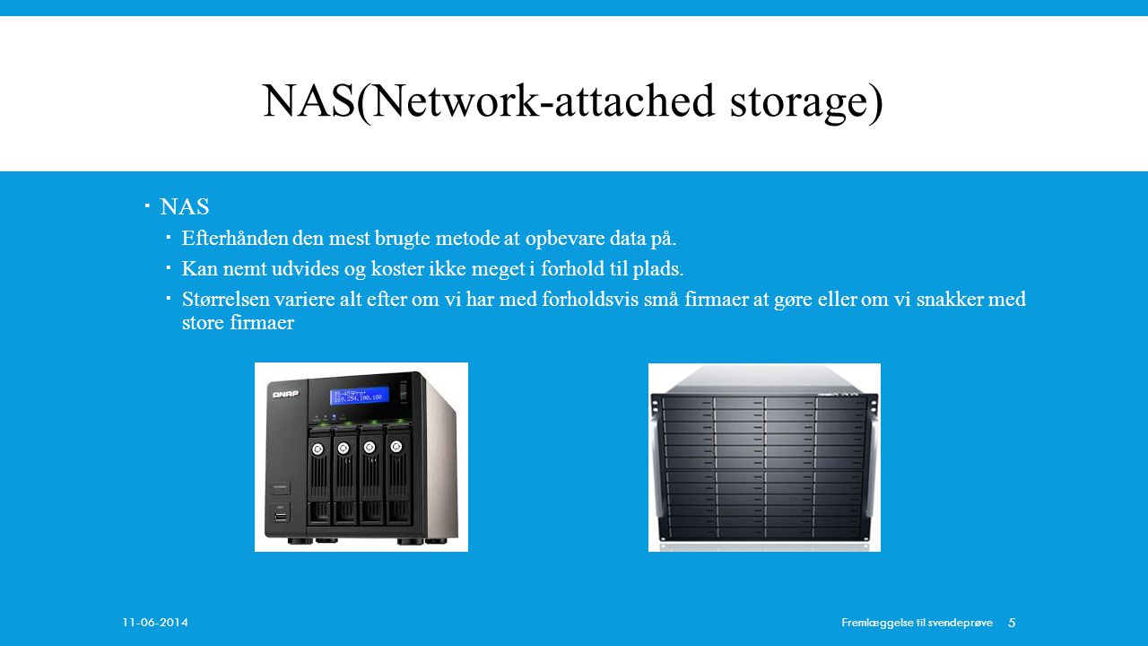 NAS(Network-attached storage)