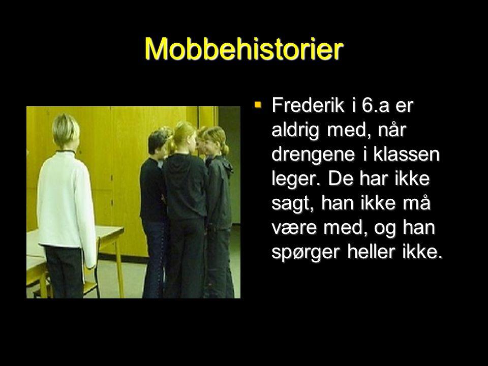 Mobbehistorier Frederik i 6.a er aldrig med, når drengene i klassen leger.