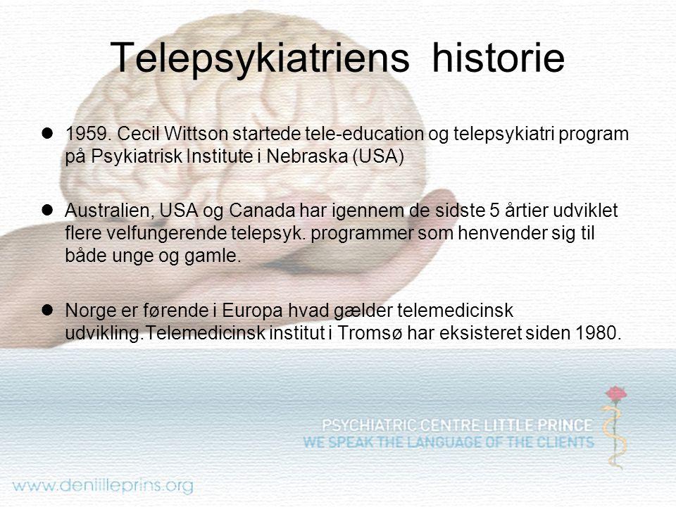 Telepsykiatriens historie