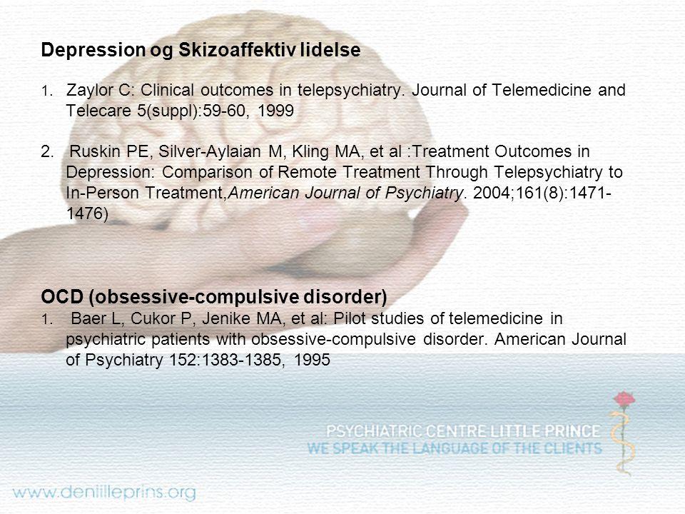 Depression og Skizoaffektiv lidelse