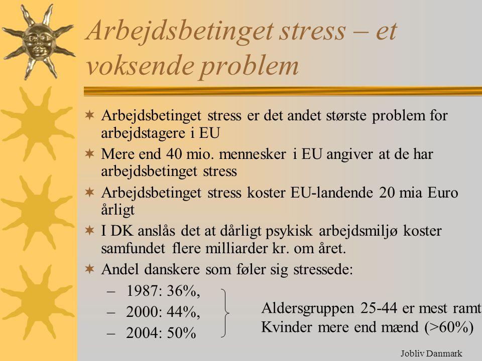 Arbejdsbetinget stress – et voksende problem
