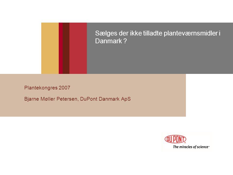 Sælges der ikke tilladte planteværnsmidler i Danmark