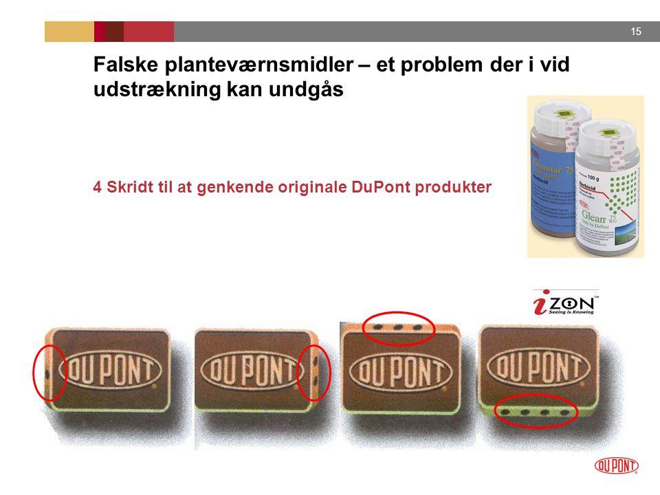 Falske planteværnsmidler – et problem der i vid udstrækning kan undgås