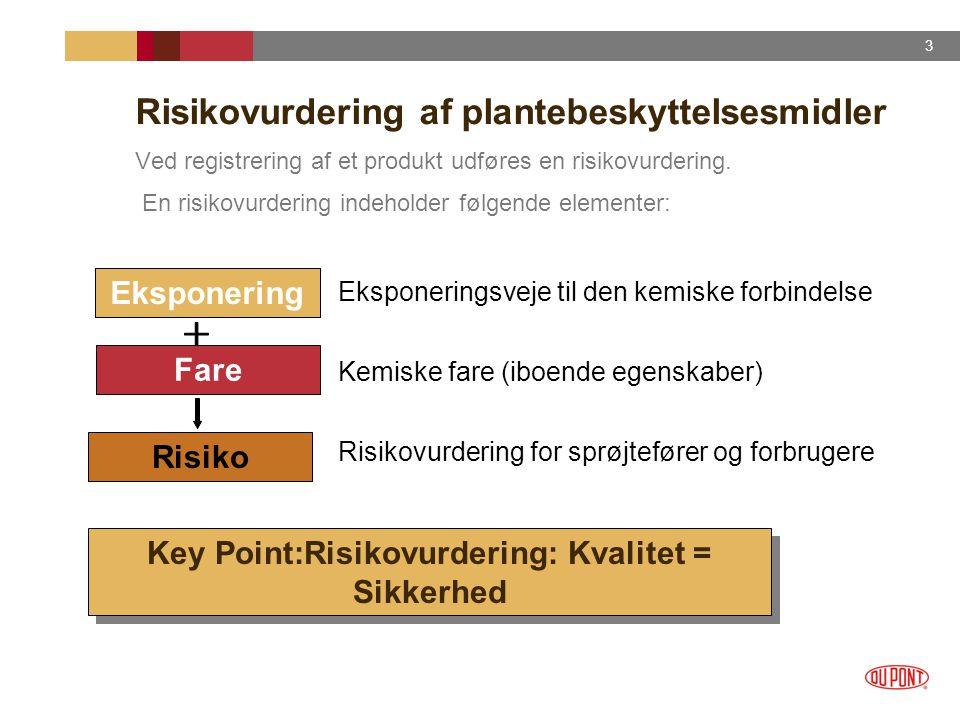 Risikovurdering af plantebeskyttelsesmidler