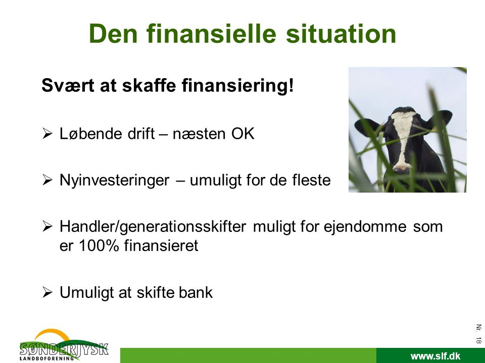 Den finansielle situation