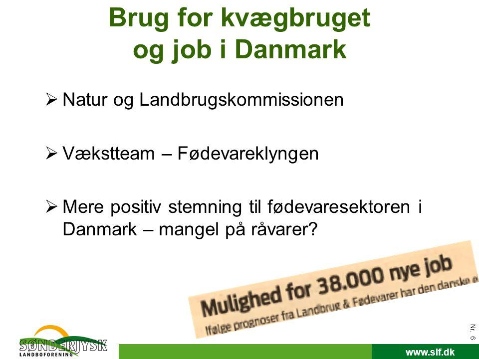 Brug for kvægbruget og job i Danmark