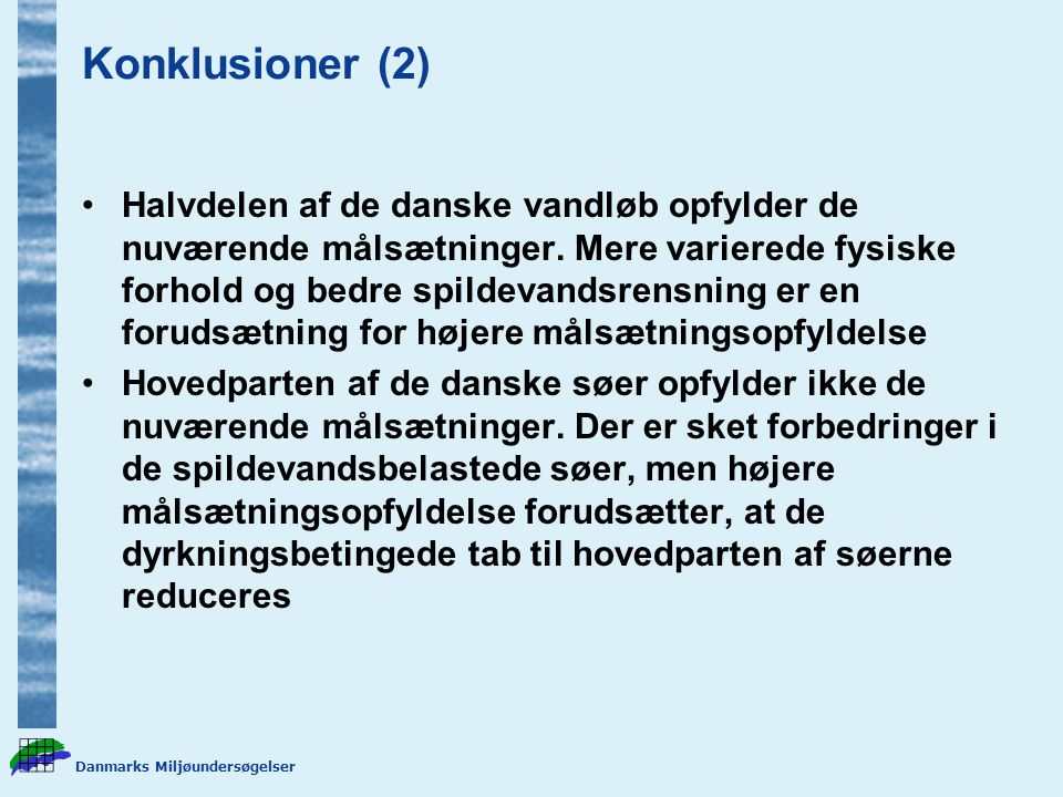 Konklusioner (2)