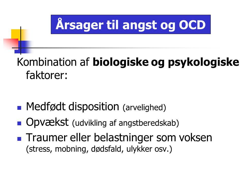 Årsager til angst og OCD