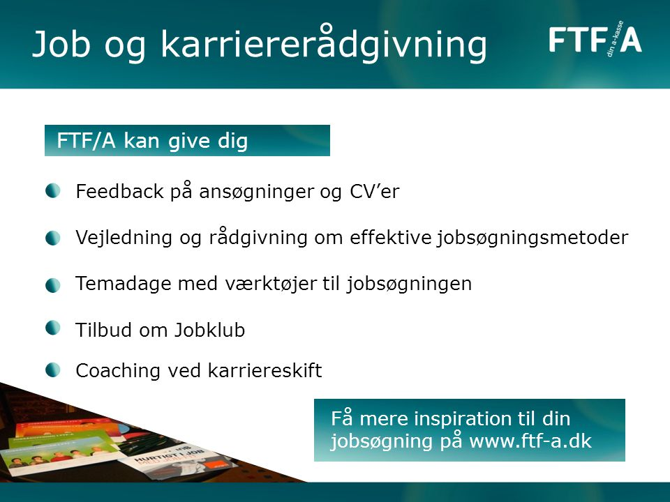 Job og karriererådgivning