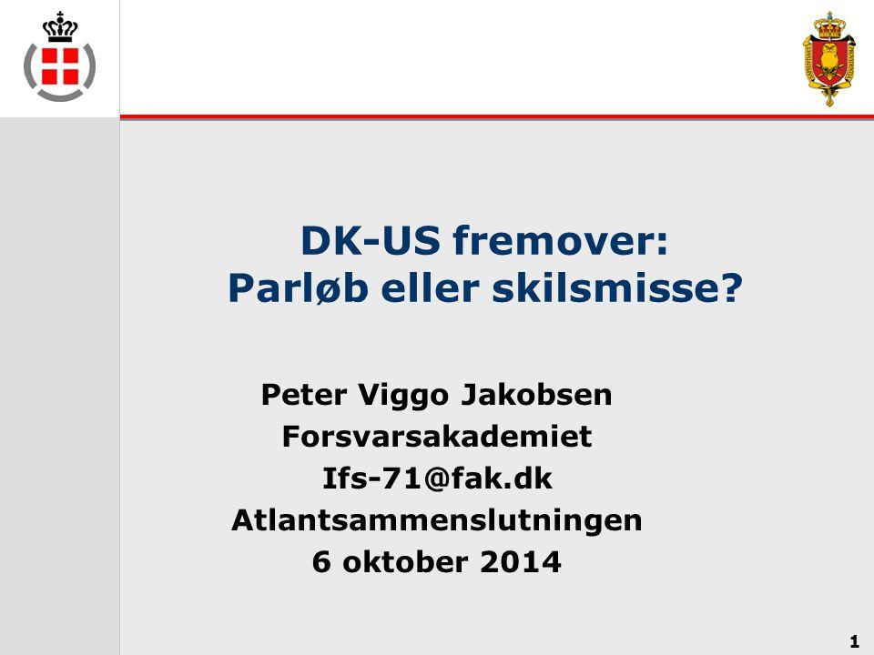 DK-US fremover: Parløb eller skilsmisse
