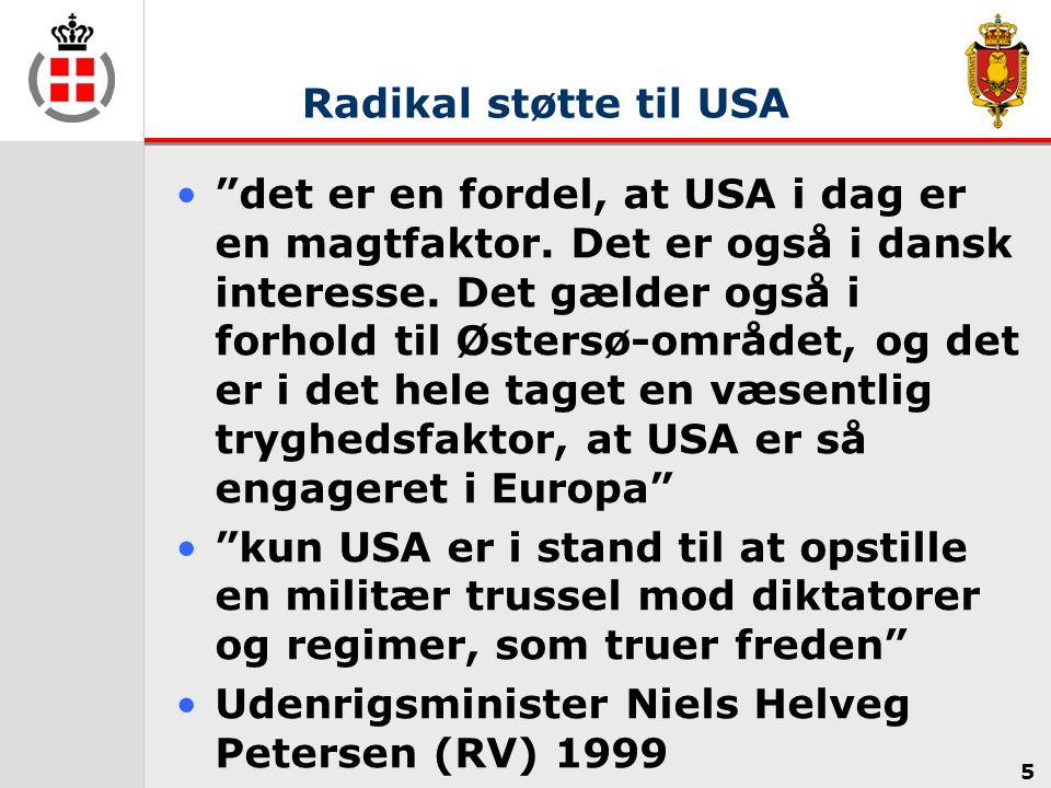 Udenrigsminister Niels Helveg Petersen (RV) 1999