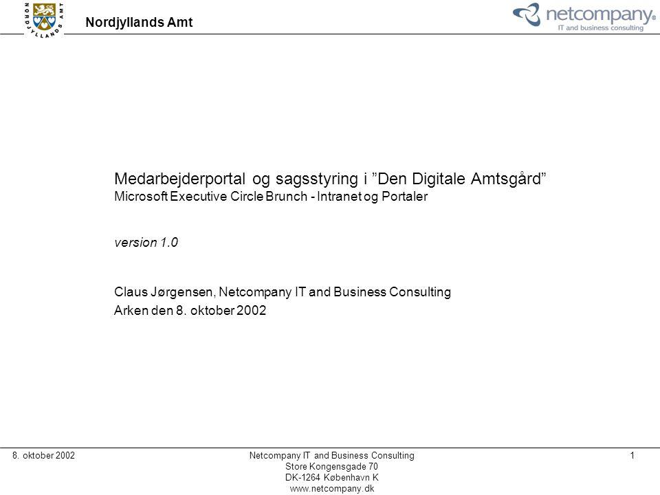 Medarbejderportal og sagsstyring i Den Digitale Amtsgård