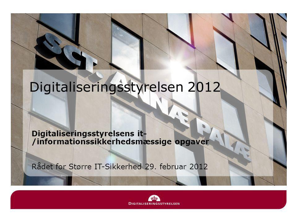 Digitaliseringsstyrelsen 2012