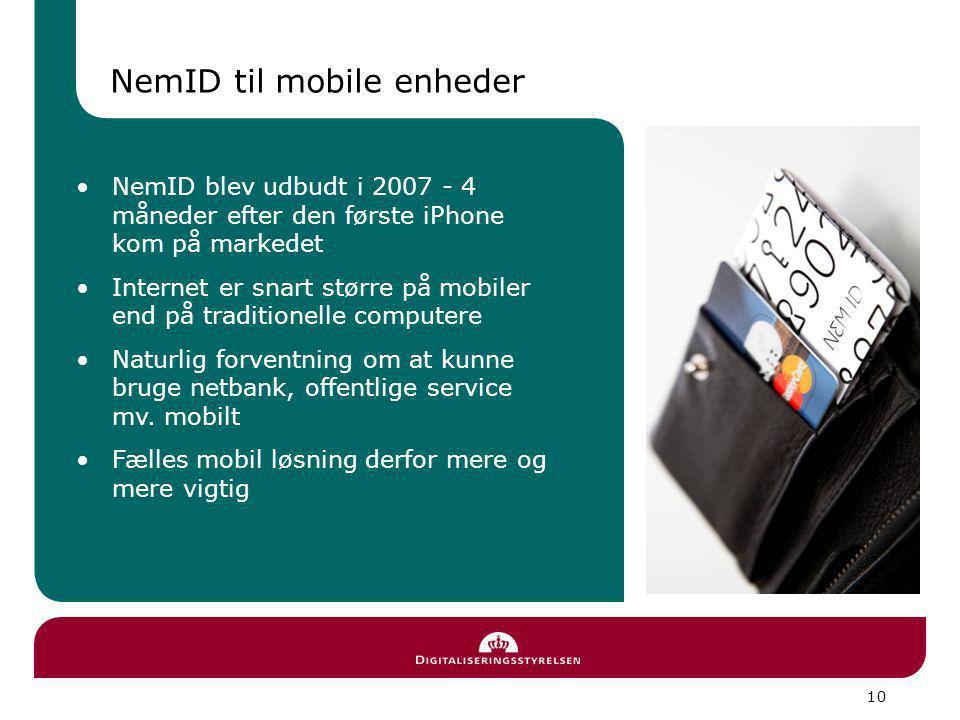 NemID til mobile enheder