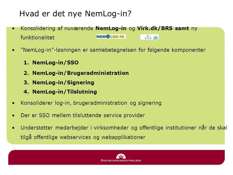 Hvad er det nye NemLog-in