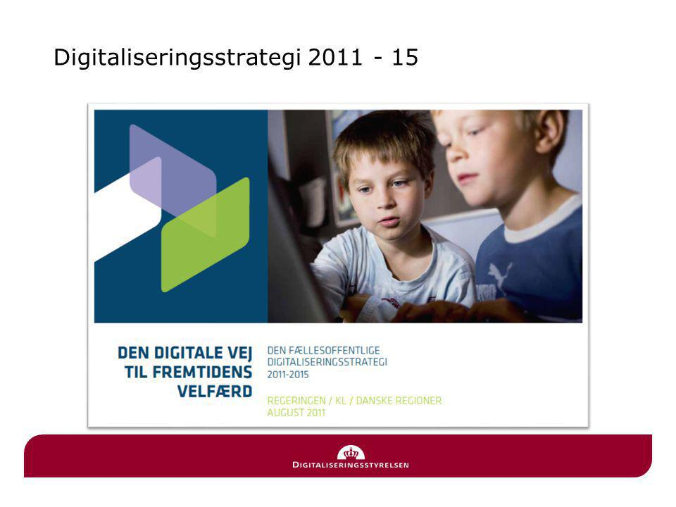 Digitaliseringsstrategi 2011 - 15