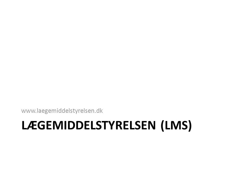 Lægemiddelstyrelsen (LMS)