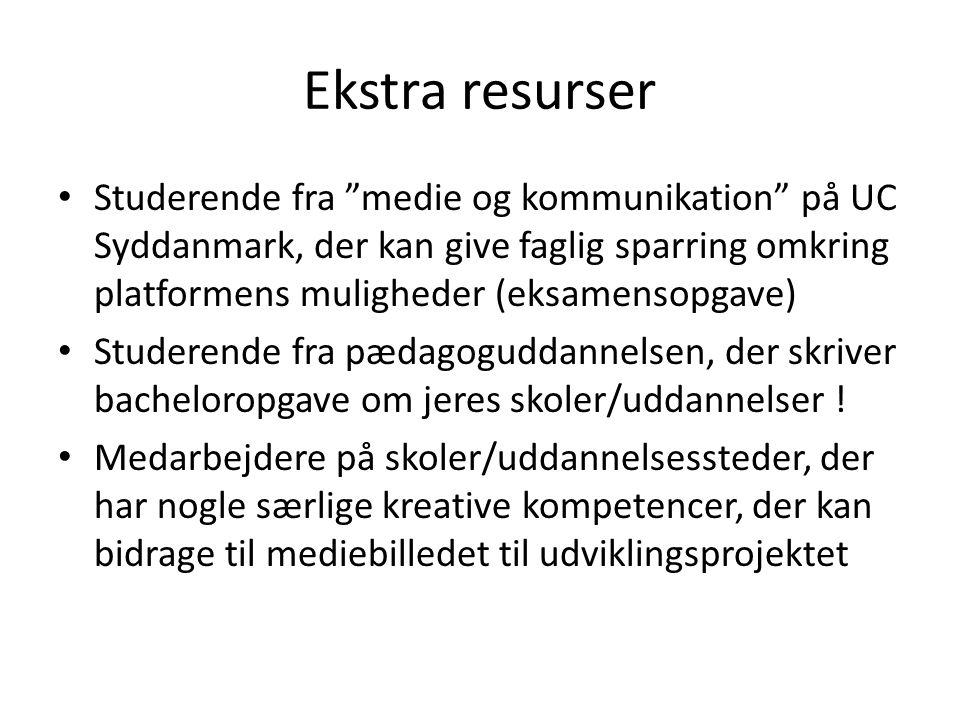 Ekstra resurser